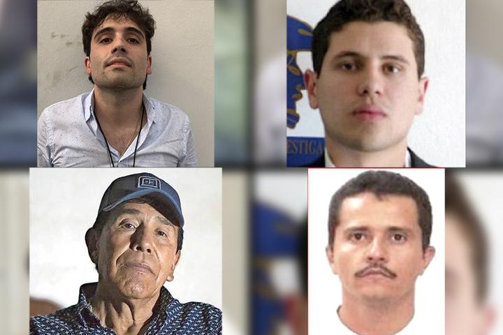 Se unen hijos del Chapo y Caro Quintero para ir contra el CJNG