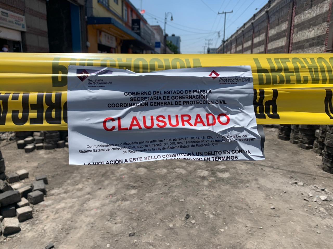 Clausura de obras del Ayuntamiento, por incumplir con permisos: Manrique