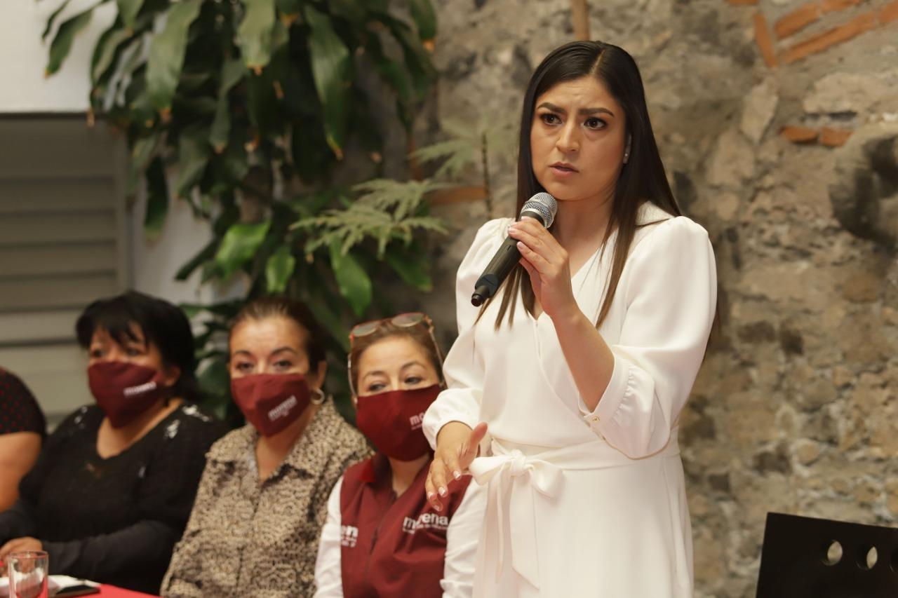 Me atacan porque apuntalo las preferencias electorales: Claudia Rivera