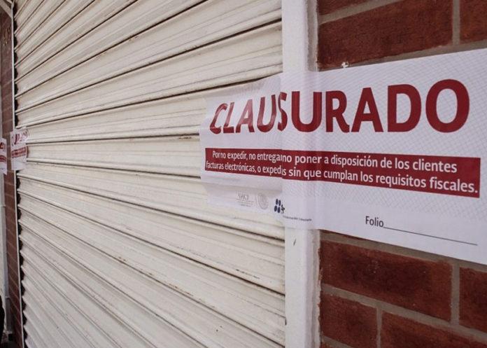 Clausuran negocio en Coronango por no respetar decreto estatal