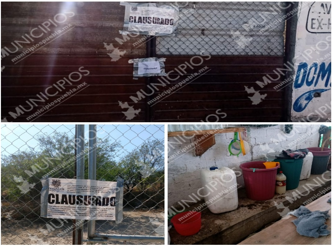 Clausura Normatividad bar clandestino en Tehuacán
