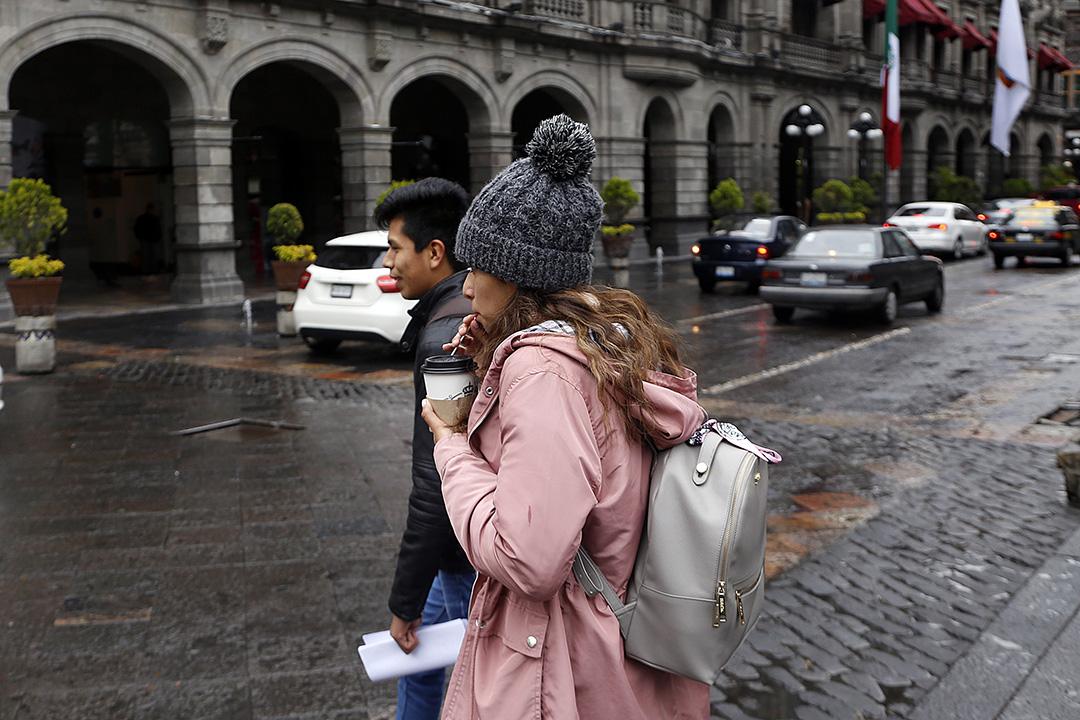 Pronóstico de lluvias y temperatura para Puebla