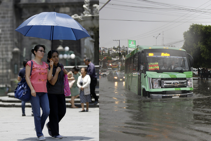 Este jueves ambiente templado en Puebla, con lluvias vespertinas