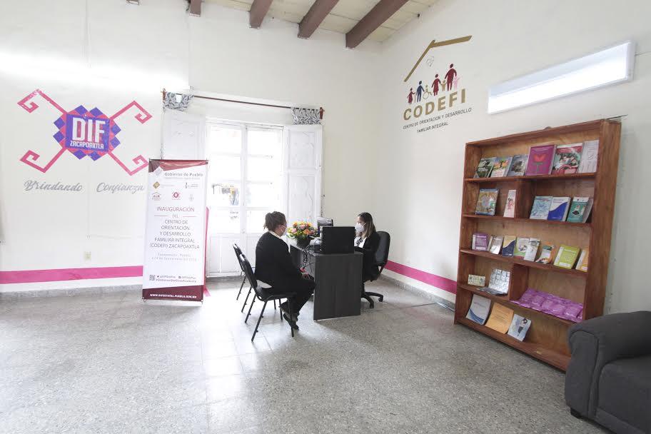 En Zacapoaxtla, SEDIF inaugura tercer Codefi del estado