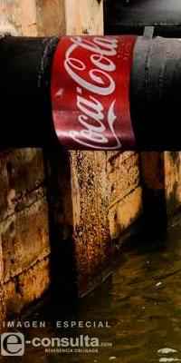 Fundación ligada a Coca Cola quiere manejar agua de Ocotepec