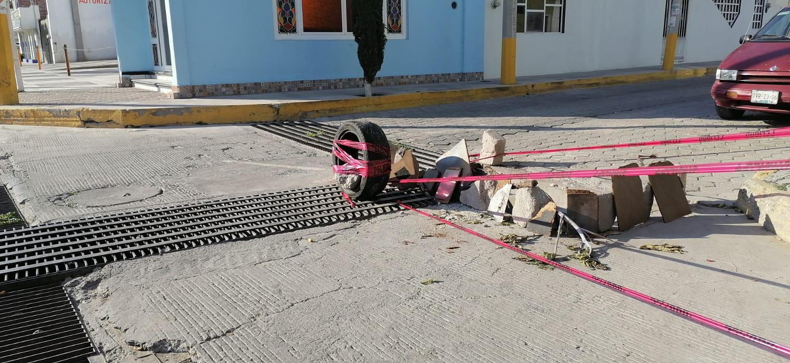 Hasta las coladeras se roban en Tecamachalco