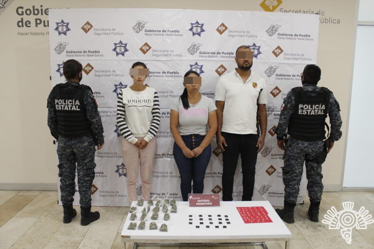 Caen operadores colombianos del sistema gota a gota en Cuautlancingo