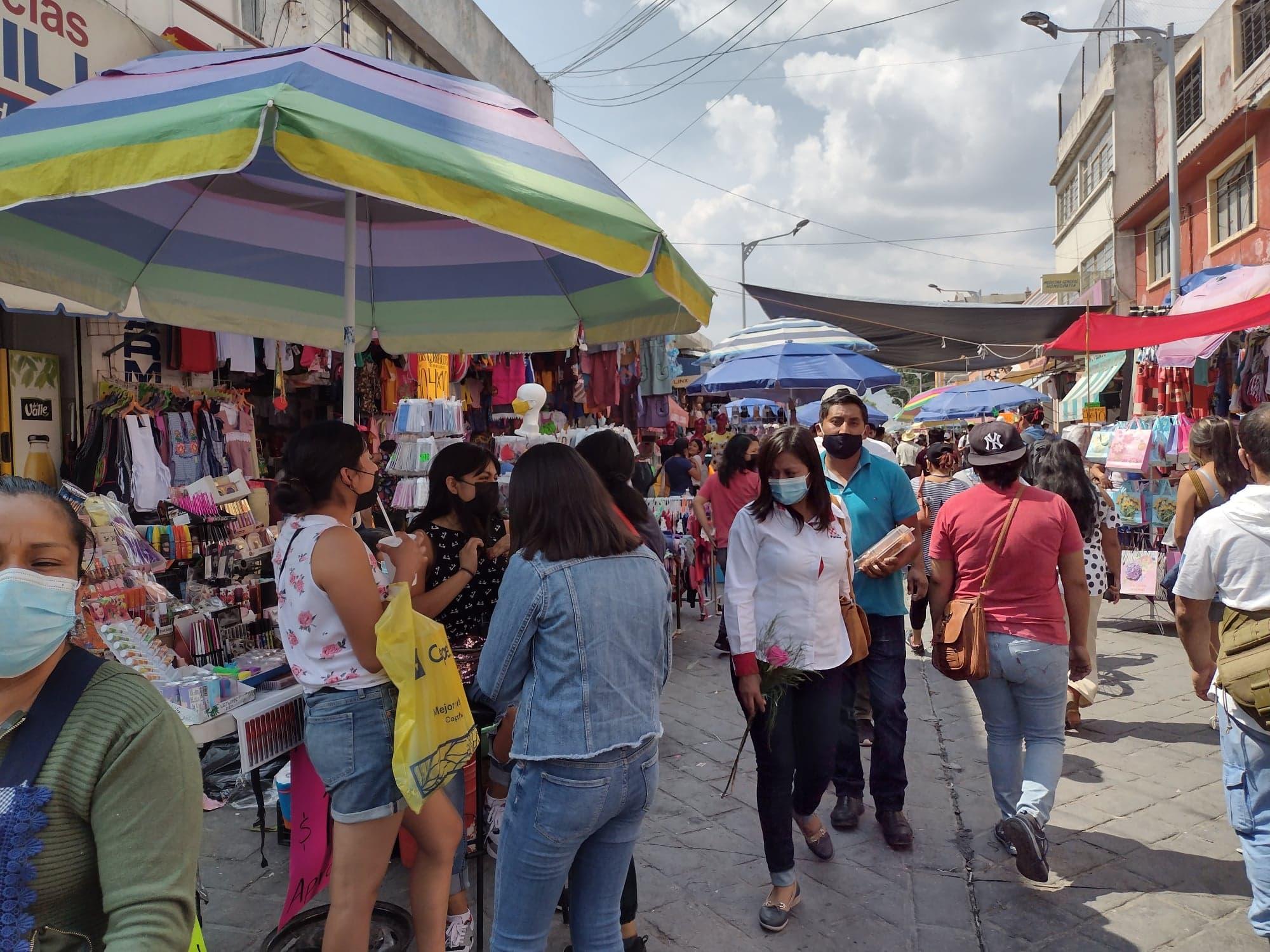 Reactiva 10 de mayo el comercio local en Tehuacán
