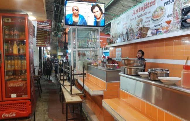 Comerciantes del mercado Domingo Arenas relajan medidas contra el Covid
