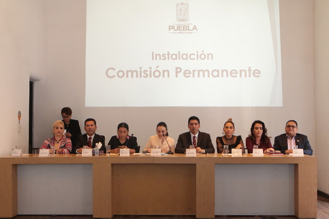 Integran la Comisión Permanente del Congreso Local