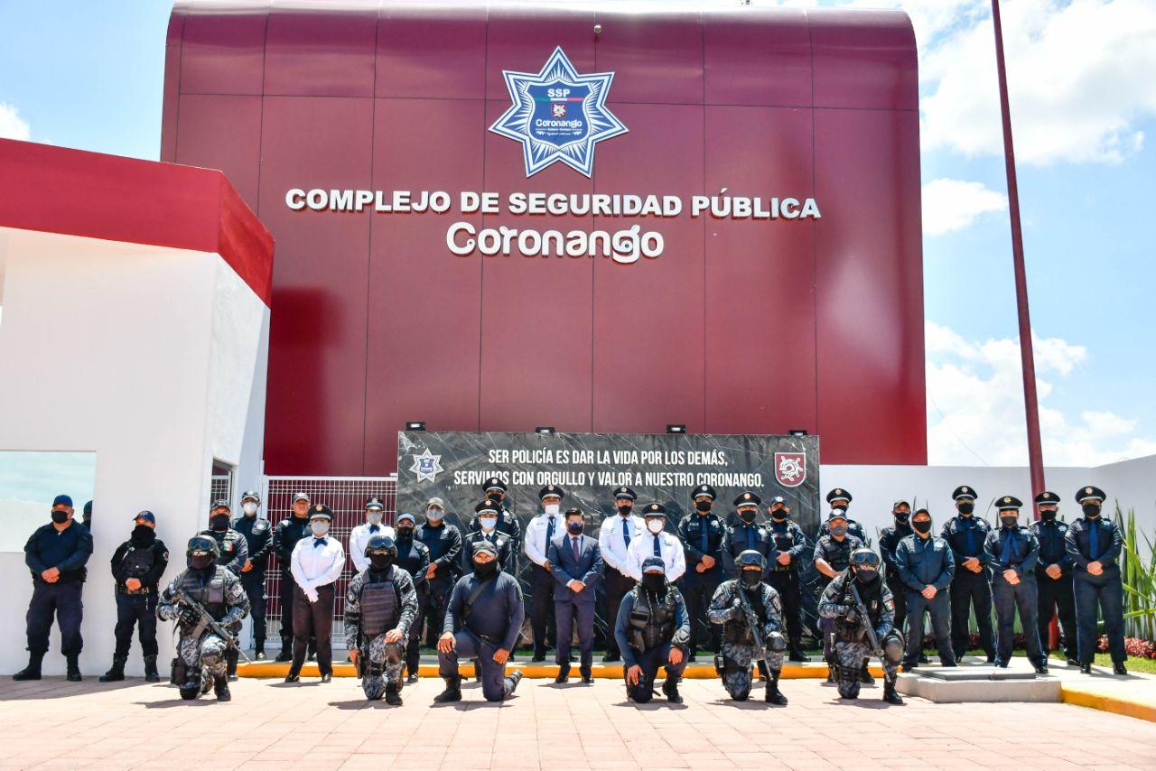 Inauguran el Complejo de Seguridad Pública de Coronango