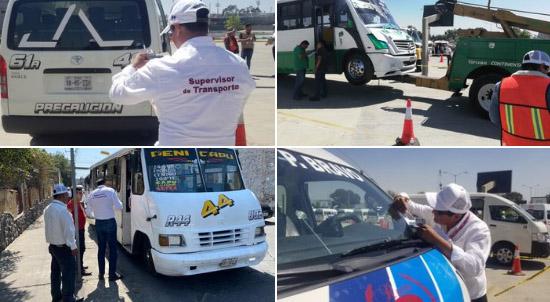 SMT quita concesión a 9 unidades 2000, 9, 76 y Puebla-Cholula.
