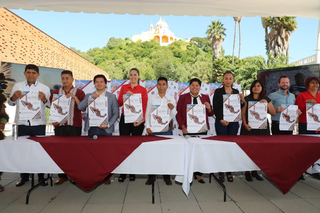 San Andrés Cholula presenta el primer encuentro nacional de artesanos