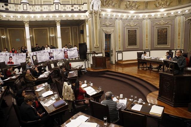 Se reparten culpas Morena, PAN y PRI por feminicidios en Puebla