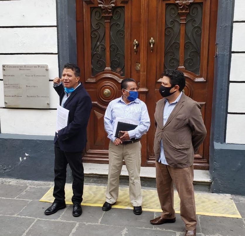 VIDEO Urgen a Congreso de Puebla disolución de Comisión de Derechos Humanos