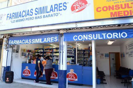 Muere abuelito por males respiratorios en Farmacia Similares en Puebla