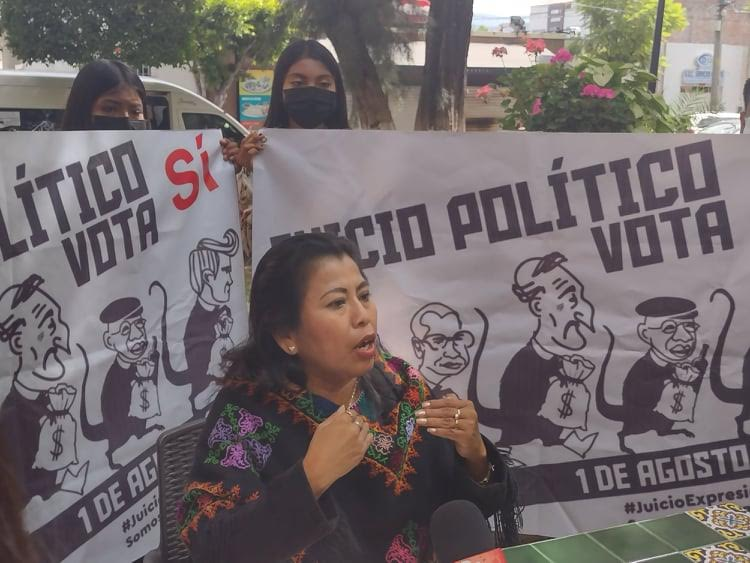 Acusa diputada falta de casillas en Ajalpan para consulta ciudadana