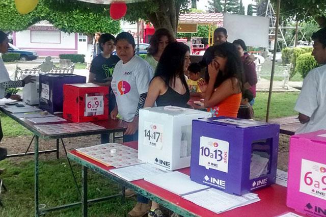 Llama INE a participar en la consulta infantil y juvenil en Puebla