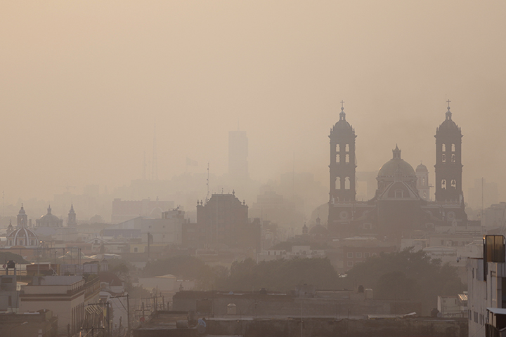 Llegarán polvos del Sahara a Puebla, autoridades dan recomendaciones