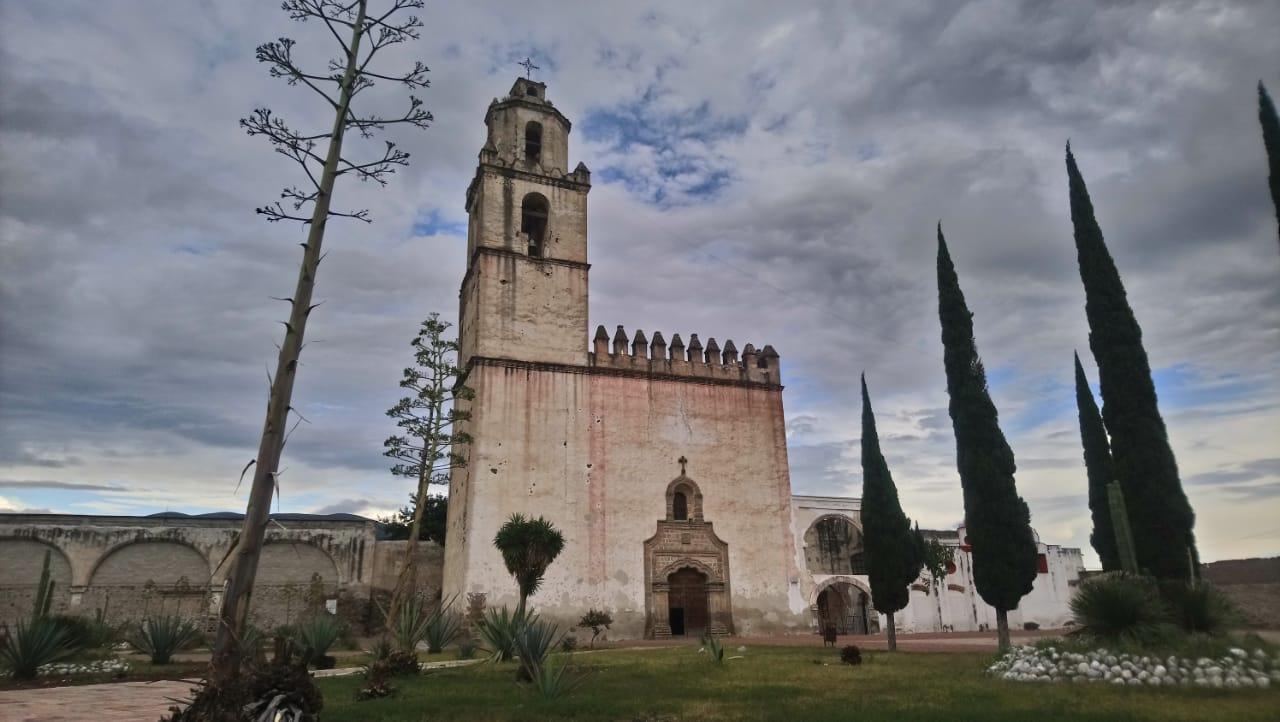 A dos años del sismo sigue cerrado ex Convento de Tecamachalco