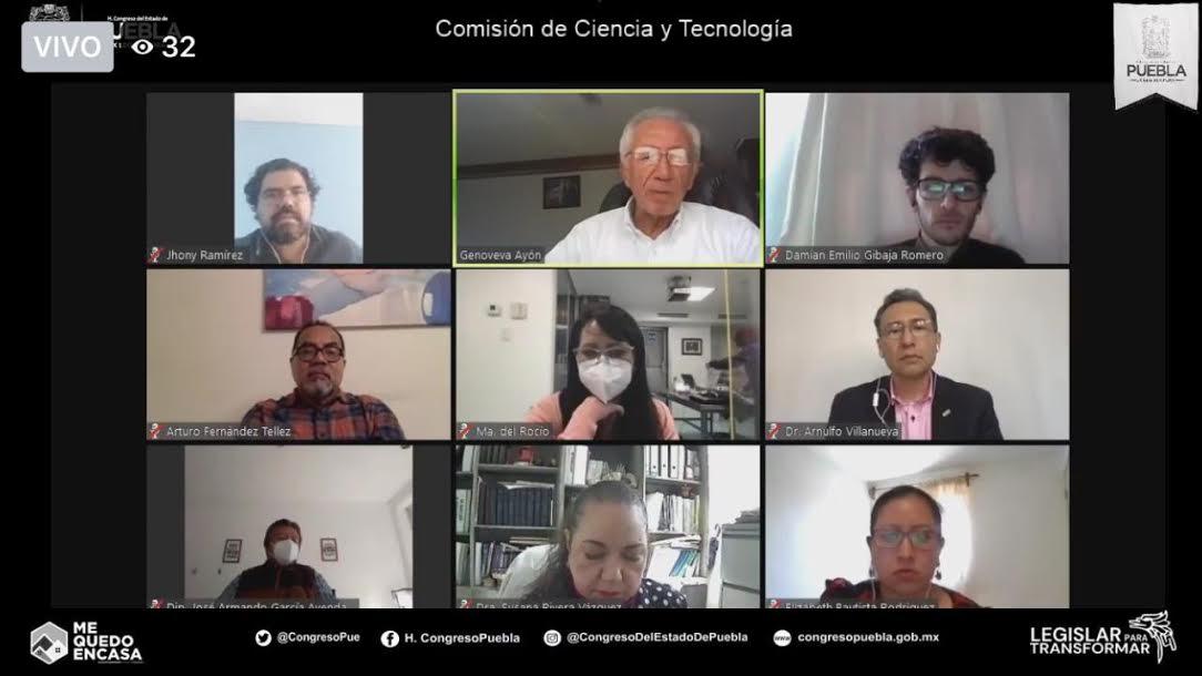 Investigadores analizan efectos del covid19 en Puebla