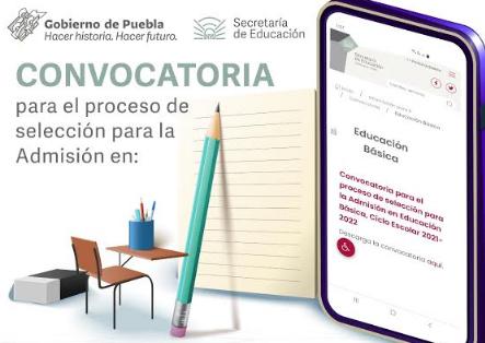 Convoca SEP al proceso de selección para la Admisión en Educación Básica