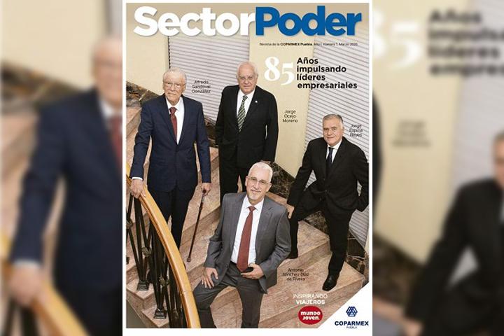 Presenta Coparmex revista y programa en Puebla