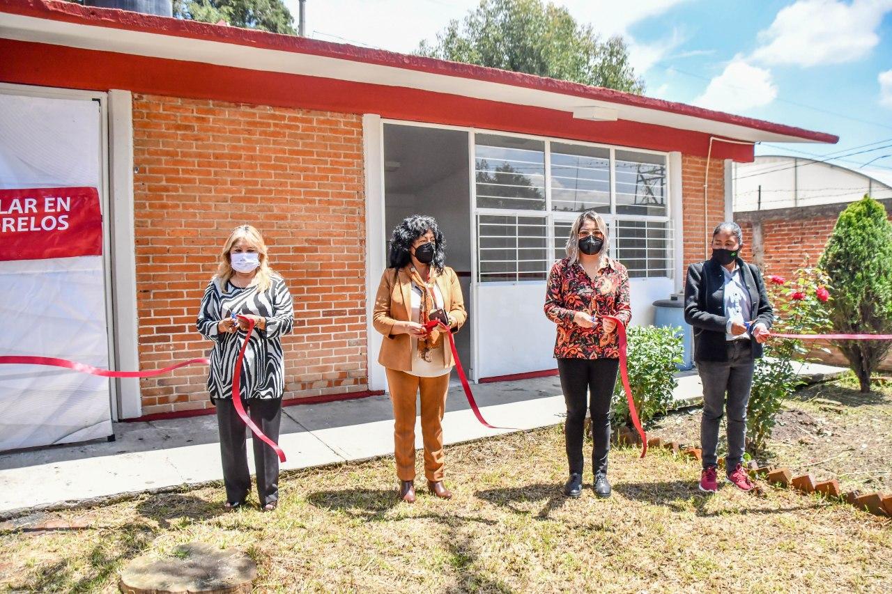 Cuentan 3 escuelas de Coronango con comedor remodelado