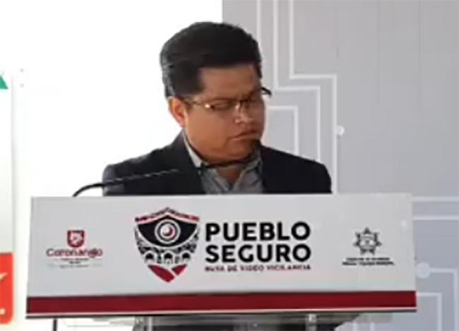 EN VIVO Antonio Tehutli presenta el programa Pueblo Seguro en Coronango