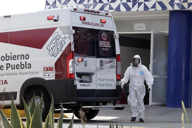 Puebla sumó casi 600 contagios de Covid en tercera semana de Octubre