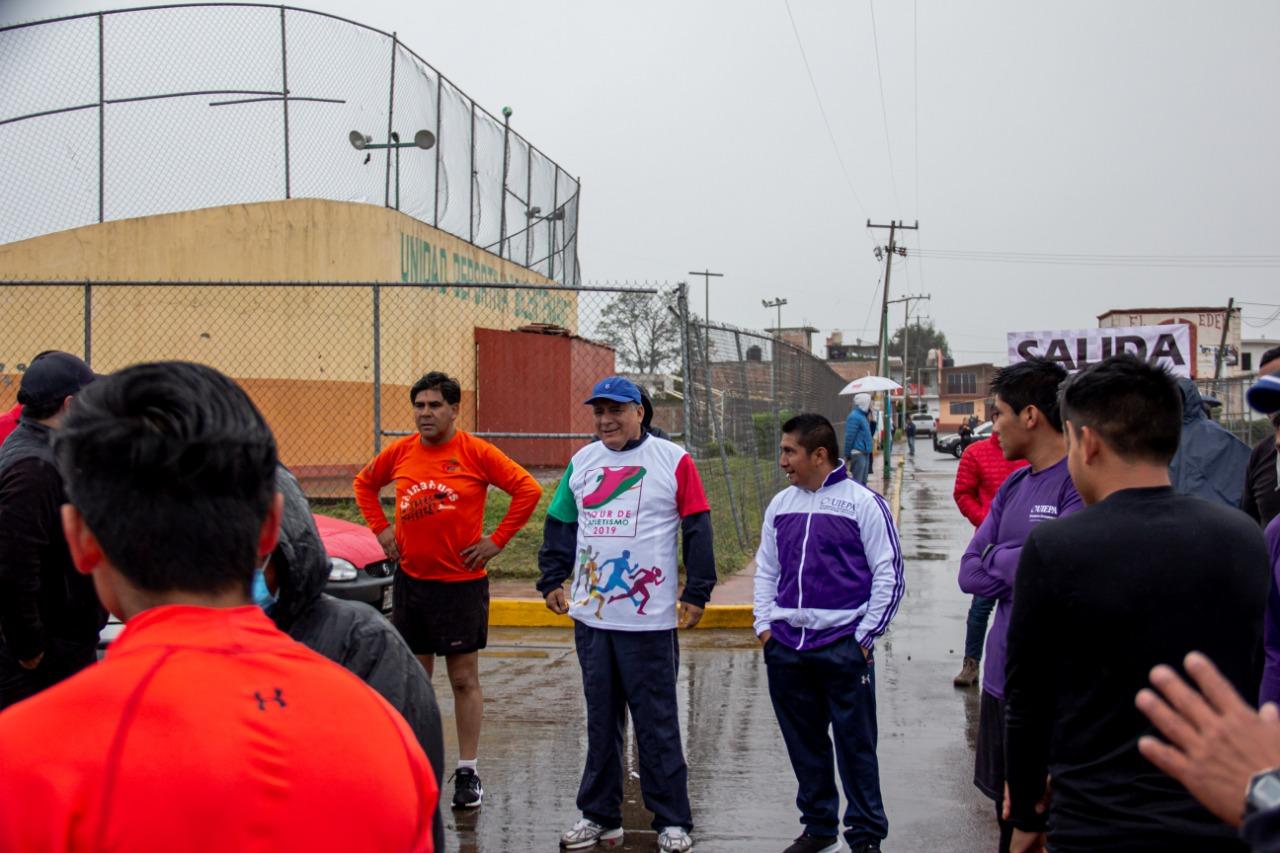 Excelente respuesta de corredores de Zacatlán al Tour de Atletismo 2019