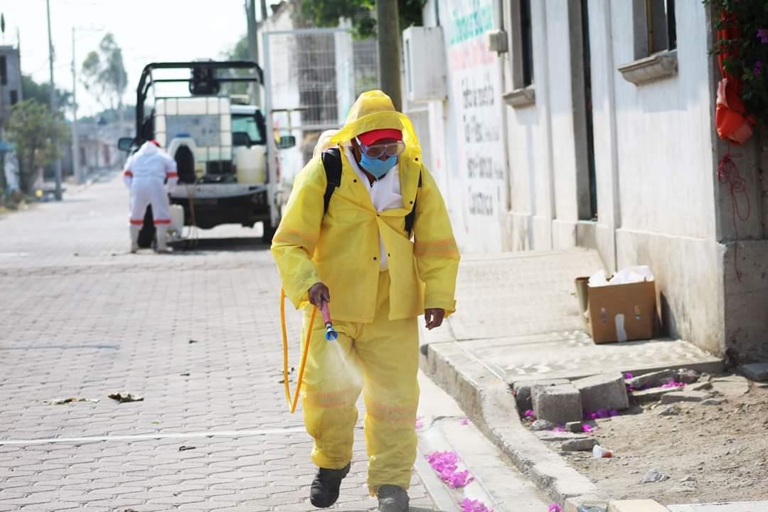 Reportan dos muertes y cuatro positivos de Covid-19 en Tochtepec