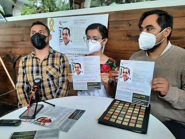 Emiten Acción Urgente para localizar al activista Cresencio Vera