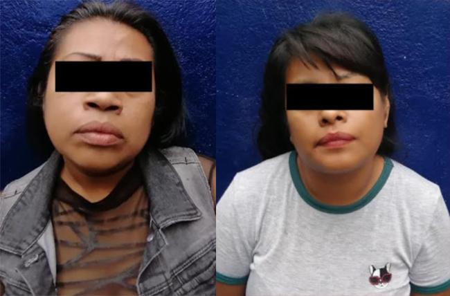 Detienen a dos mujeres por traer dosis de cristal en calles de Tehuacán