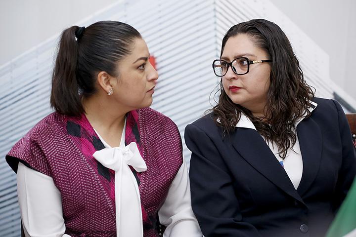 Discuten en el Congreso Local revocar mandato a Claudia Rivera