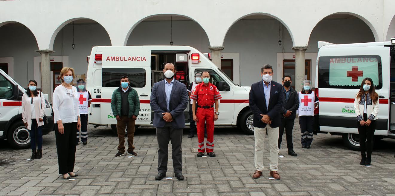 Cruz Roja Ciudad de Puebla recibe donativo de más de 1.4 mdp