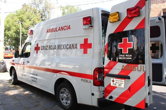 Cruz Roja ha realizado 650 traslados a pacientes covid en Puebla