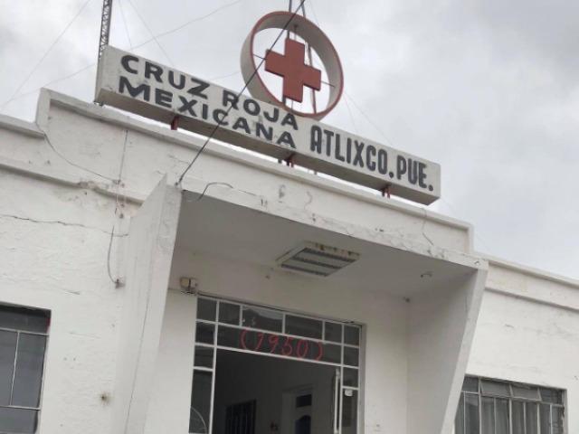 Cruz Roja de Atlixco sin ambulancia ni servicios Covid