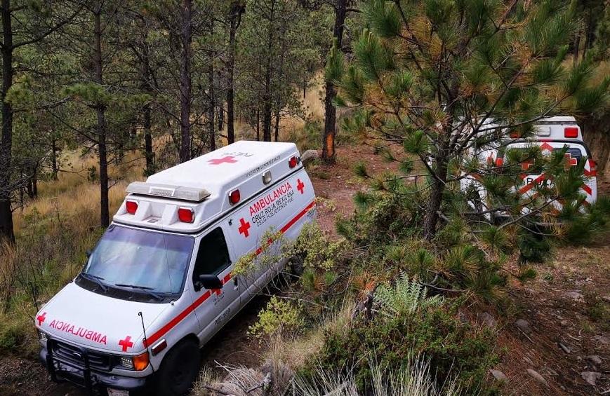 Cruz Roja de Huejotzingo ayuda en extracción de cuerpo