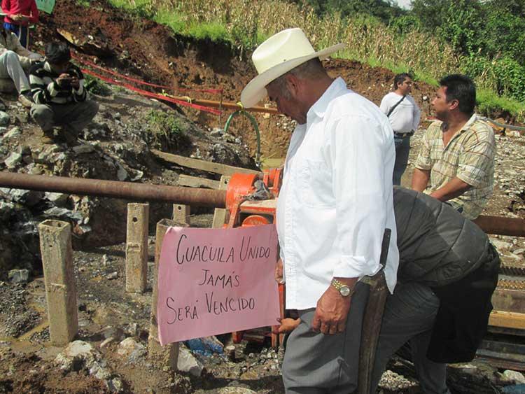 Solapa juez desacato a suspensión de gasoducto en Huauchinango