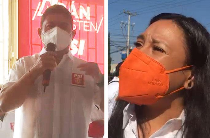Con acusaciones y firma de compromisos inician campaña candidatos en Cuautlancingo