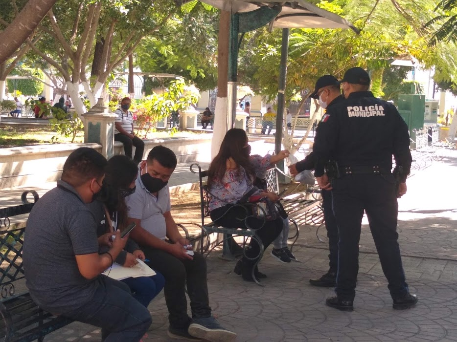 Antes de sancionar, policía exhortará a usar cubrebocas en Tehuacán