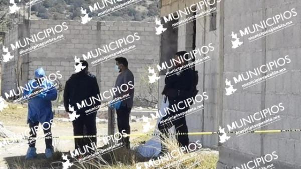 Hallan cadáver de hombre con signos de violencia en Amozoc