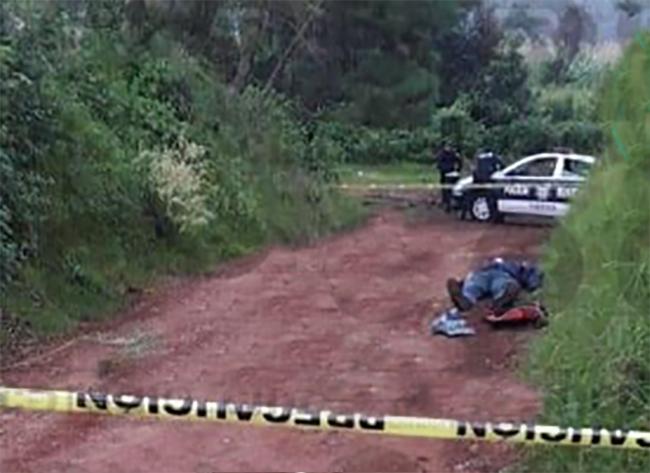 Encuentran cadáver con tiro de gracia frente a panteón en Chignahuapan