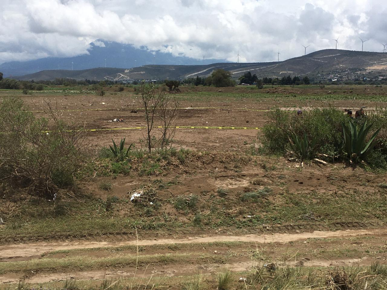 Hallan cadáver de un sujeto en terrenos de cultivo en Cañada Morelos