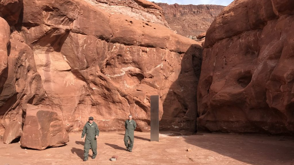 Reportan desaparición del misterioso monolito recién descubierto