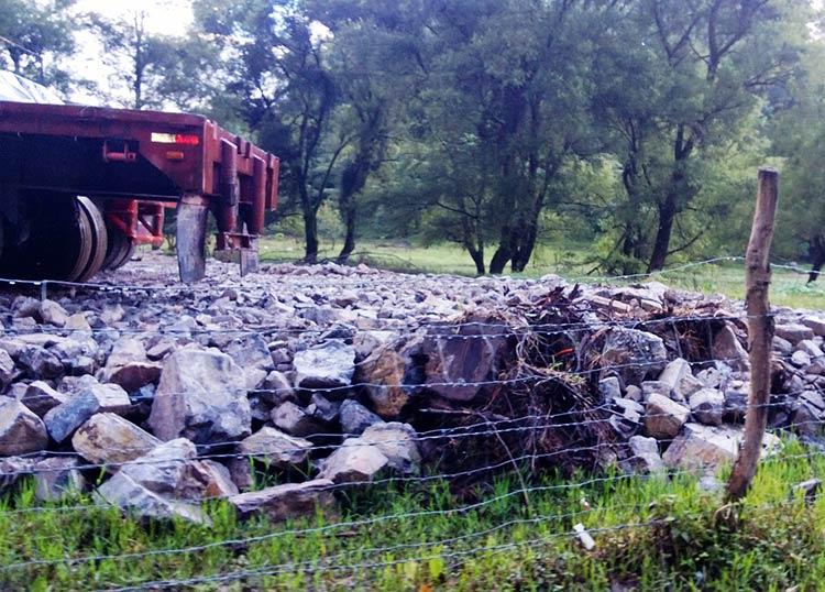 Evidencian daños de Gasomex a un área natural protegida en Huauchinango