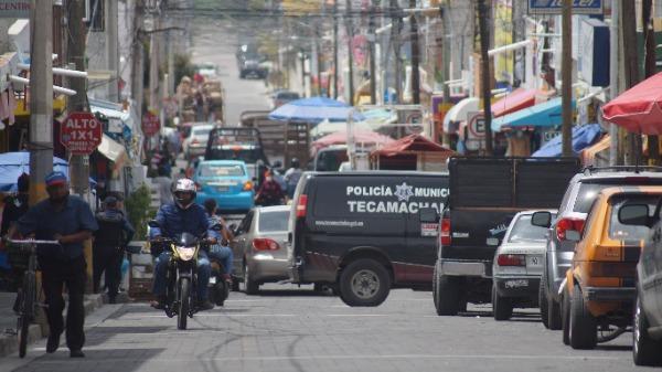 Denuncian llamadas de extorsión con amenazas de explosivo en Tecamachalco