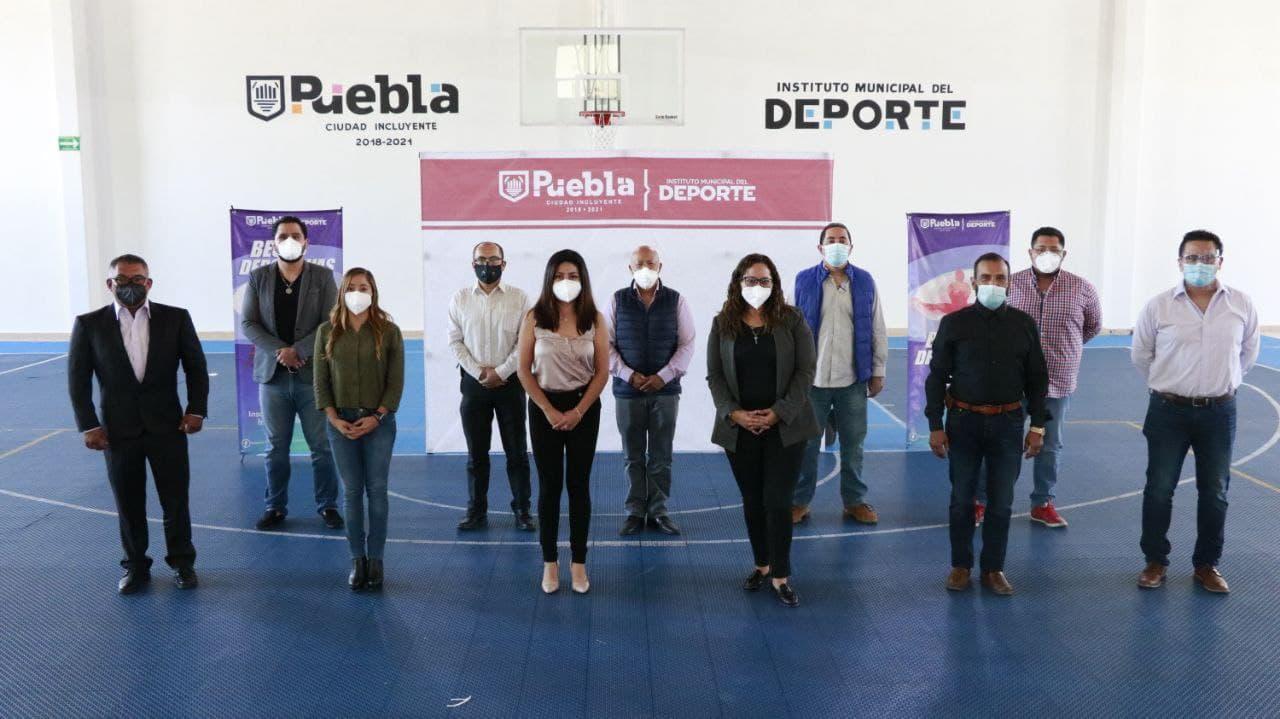 Reabren 17 espacios deportivos a favor del bienestar en Puebla capital