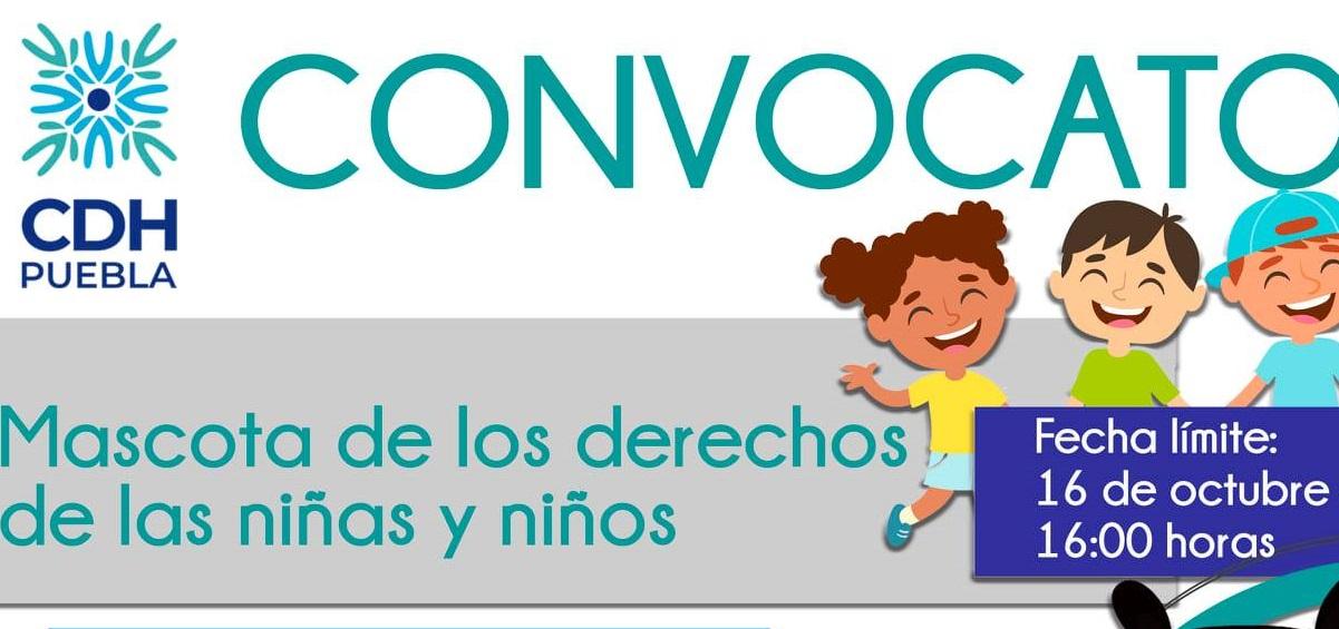 Comisión de Derechos Humanos de Puebla tendrá mascota